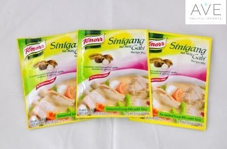 Knorr Sinigang na may Gabi 22g (Pack of 3) Tamarind w/ Taro by Knorr