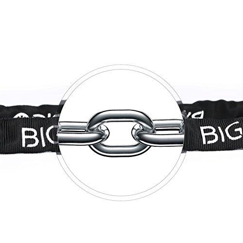 BIGO Bicycle Chain Lock Resettable Combination Bike lock Open with Password,120cm/47.24inch by BIGO (Image #3)