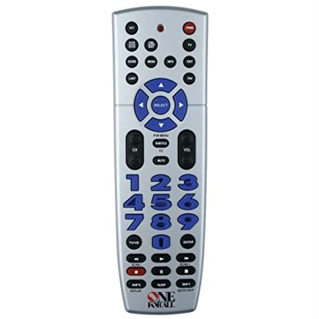 Amazon one for all urc 4220 big easy 4 device universal one for all urc 4220 big easy 4 device universal remote control discontinued by sciox Gallery