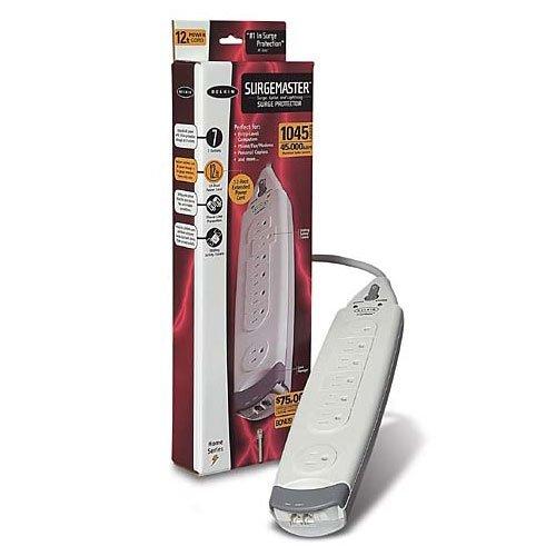 Belkin SurgeMaster Home Series - surge suppressor (F9H710-12) -