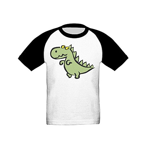 Kkajjhd Dinosaur It Was Cool Keep Warm Teens Youth Short-Sleeved Shoulder (Embroidered Golf Mock Turtleneck)