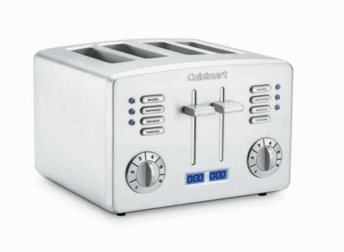 Cuisinart CPT 190C Countdown Metal 4 Slice Toaster Amazon