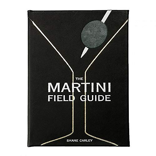 The Martini Field Guide in Luxe Leather by Graphic ImageTM - Leather Graphic
