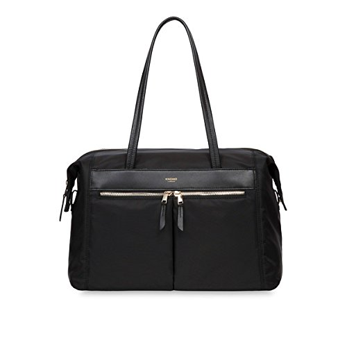 Knomo Luggage Curzon 15 Shoulder Tote 10.6 X 15.0 X 6.3, Black, One Size by Knomo