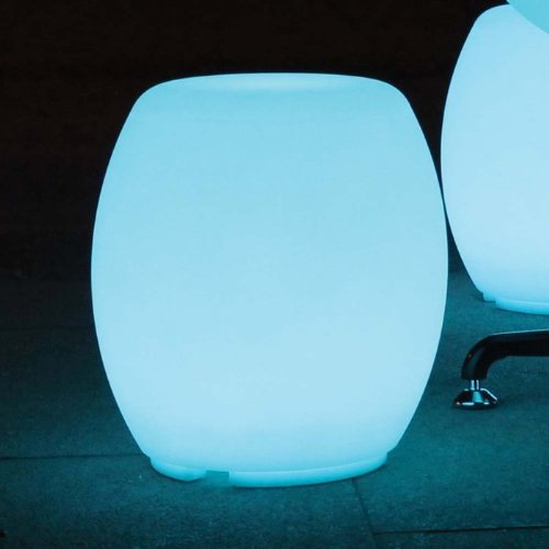 Color Changing Waterproof LED Light - Macau Barrel Stool by Main Access