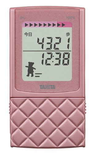 Tanita Pedometer with 3d Sensor Fb-729k-rz Raspberry by Tanita