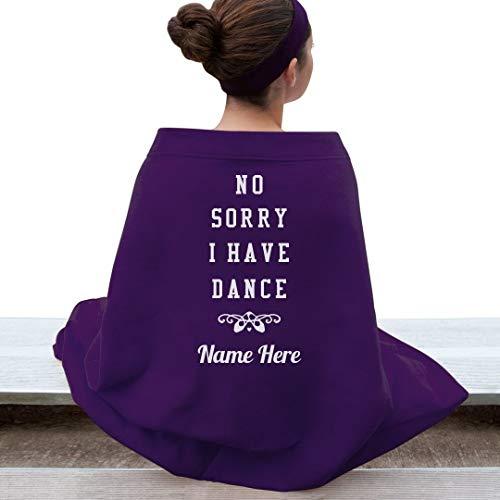 Funny Dance Custom Name Blanket: Gildan DryBlend Stadium Blanket