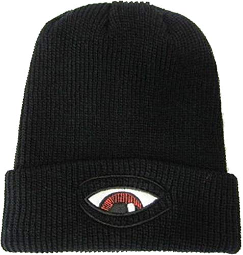 Toy Machine Skateboards Sect Eye Dock Black Beanie Hat