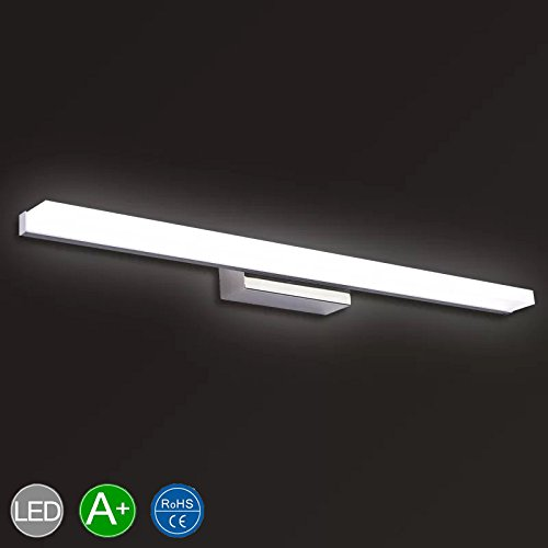 Vanity Light 16W 23.8inches LED Acrylic Rectangle Tube Cool White 6000K for Bathroom/Bedroom YHTlaeh Vanity Light by YHTlaeh (Image #2)