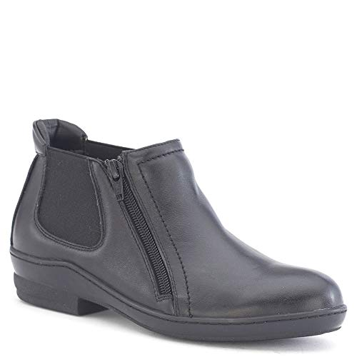 David Tate Women's Lamb Bristol Booties Black rrHgfw6qn