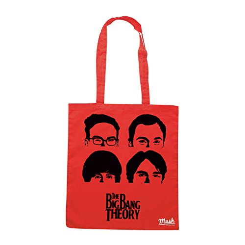 Borsa THE BIG BANG THEORY - Rossa - FILM by Mush Dress Your Style