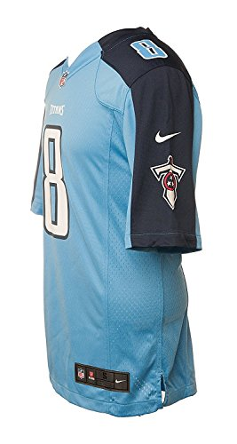 competitive price 33102 c96f1 Nike Men's Tennessee Titans Marcus Mariota NFL Jersey - Blue/Nacy
