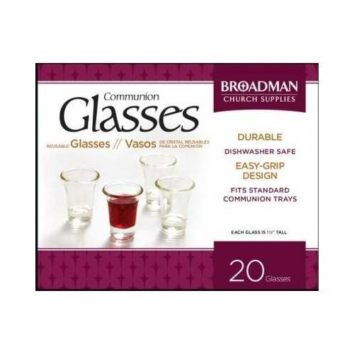 Broadman Holman 128068 Commun Cup Flared Glass 1.5 In. Jun