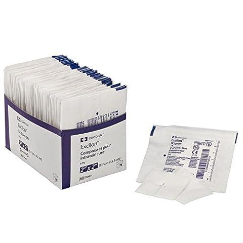 Covidien 7087 Excilon I.V. Sponge, Sterile 2's in Peel-Back Package, 2