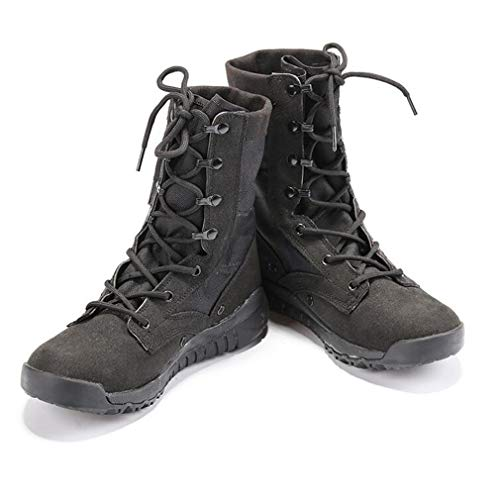 Amazon.com : Hy Mens Tooling Boots, Suede Fall/Winter Thick Bottom Climbing Sneakers, Canvas Shoes, High-top Combat Boots, Tooling Boots, Military Boots ...