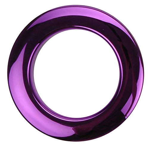 2'' Purple Chrome Drum O's/Tom Ports (2 Pack)