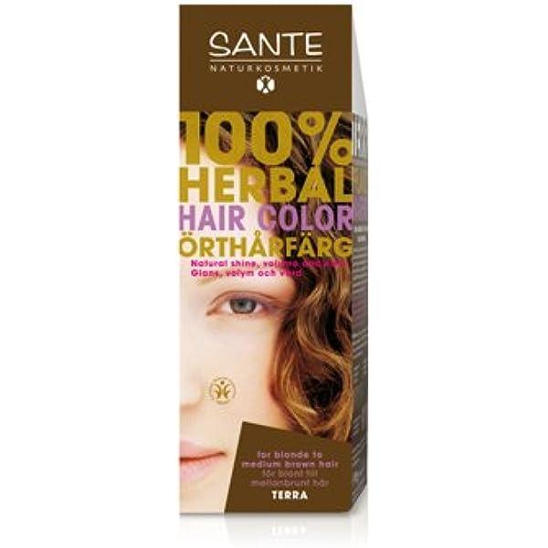 Sante Naturkosmetik 40181 coloración del cabello Marrón ...