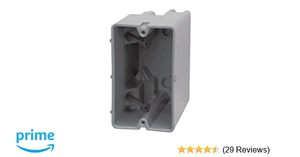 Madison Electric Products Smart Box 1 Gang 22.5 c Adjustable Depth Device Box