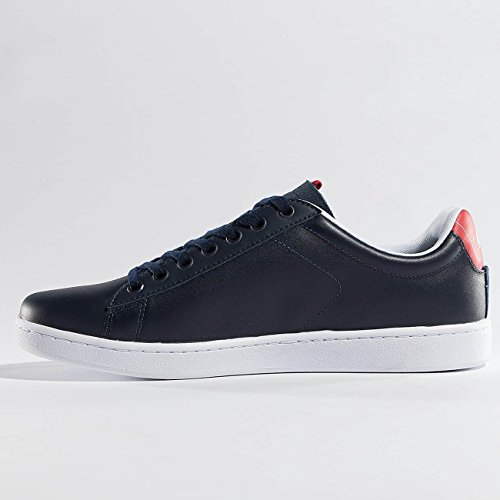 Carnaby Homme SPM 317 Baskets Rouge Chaussures Lacoste Evo taW7Hnqqp
