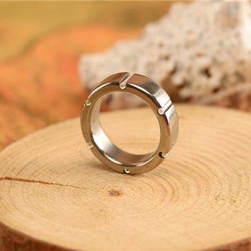 Tritium Vial Ring Self Luminous Ring 6pcs 15x6mm Tritium Vials