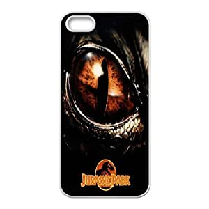 Hot Jurassic park Protect Custom Cover Case for iPhone 5, 5S DAY-38540