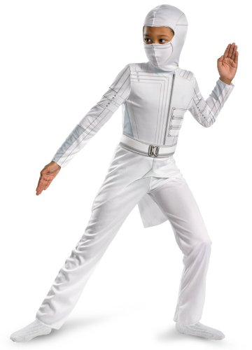 Disguise Boys GI Joe Movie Storm Shadow Classic Costume, -
