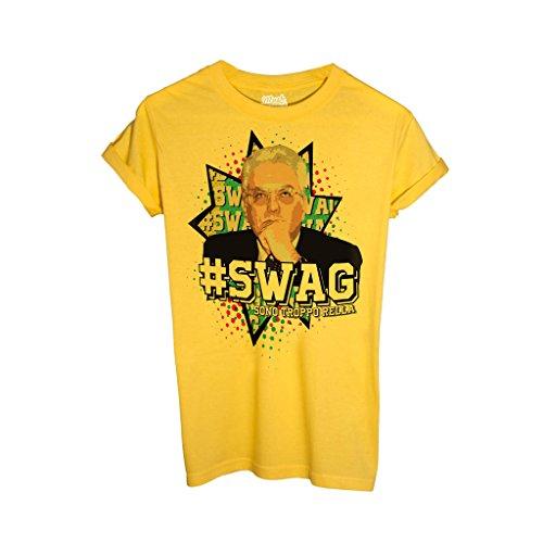 T-Shirt Swag Mattarella Bello Figo - MUSH by Mush Dress Your Style