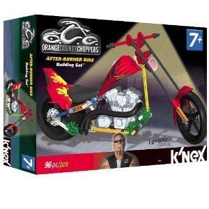 Orange County Choppers After-Burner Bike block toys (parallel - County Block Orange The