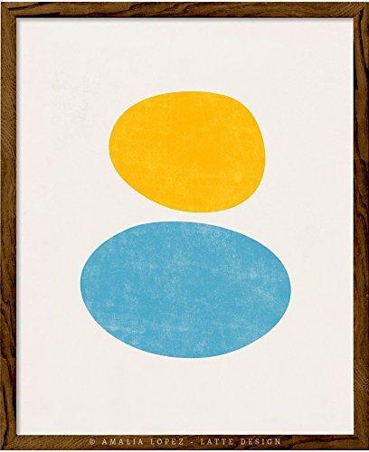 Geometric Art Abstract Art Shapes Print Minimal Abstract Print Minimalist