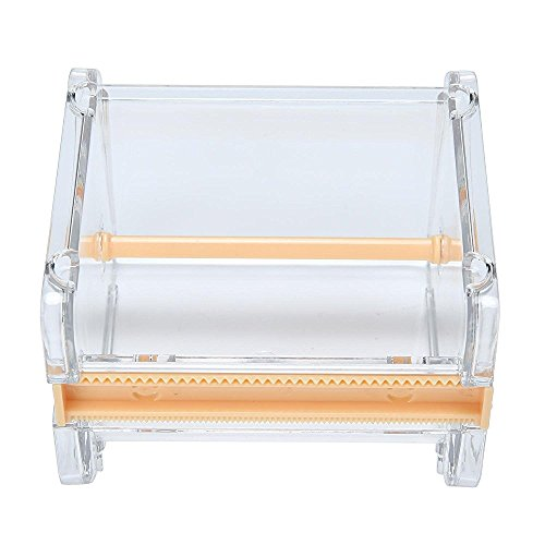 er, Washi Tape Cutter, Roll Tape Organizer/Holder, Tape Storage Box (Orange) ()