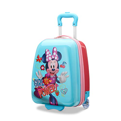 American Tourister Disney Kids Minnie Mouse Hardside Upright 16 Inch, 2 (Minnie Mouse Luggage)