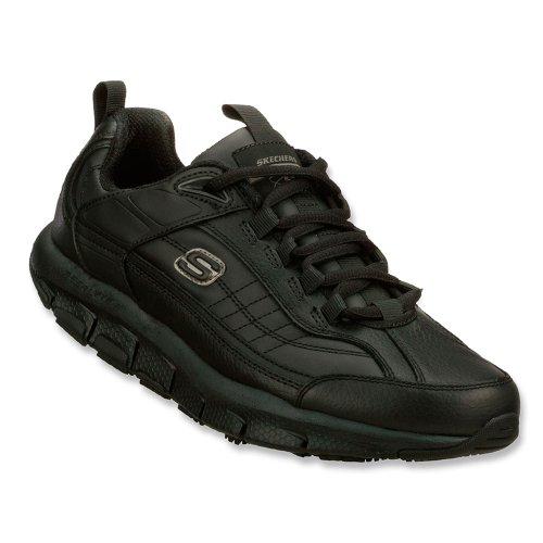Skechers Skechers Men's Shape-ups Liv SR Brawny,Black,US 7 W price tips cheap
