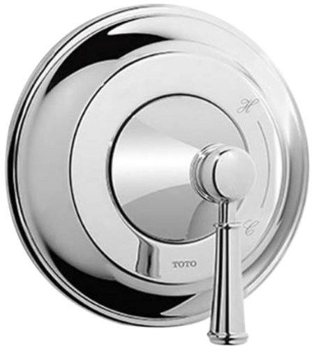 Handle Pressure Balance One - Toto TS220P1#CP Vivian Pressure Balance Valve Trim with Lever Handle, Polished Chrome, One Size