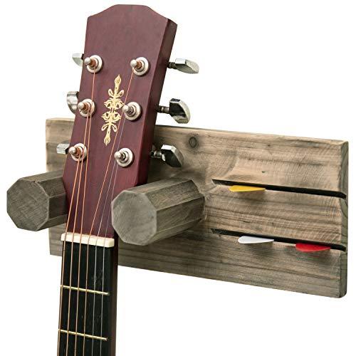 MyGift Wall Mounted Vintage Guitar Hanging
