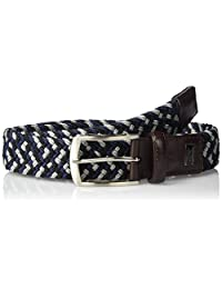 Greg Norman Men's Multi Colored Belt