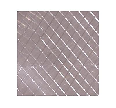 MCA, Plastic String Reinforced Poly Sheeting 10 Feet X 100 Feet, 6 Mil Nominal, Transparent/White, Durable, Top Quality Visqueen