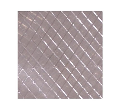 - TheSafetyHouse Plastic String Reinforced Poly Sheeting 20 Feet X 100 Feet, 6 Mil Nominal, Transparent/White, Durable, Top Quality Visqueen