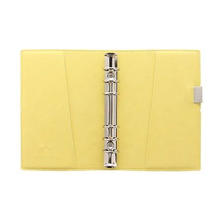 Filofax Domino Soft Personal Fawn Organiser 23mm Gummiband A6 Kalender 22580