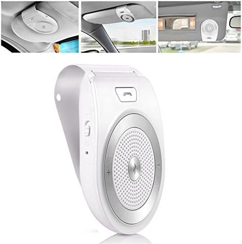 Aigital Manos Libres para Coche Kit Bluetooth Altavoz Inalámbrico con Siri y Asistente Google Auto Encendido Apagado Soporta GPS, Música, Llamadas, Conectividad de ...