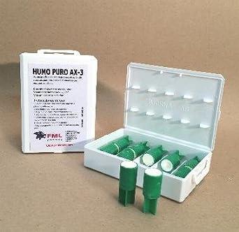 HUMO LIMPIO AX-3 (caja con 10 cartuchos). ENVÍO GRATIS por la compra de 2 o mas artículos de humo técnico de nuestro catálogo.