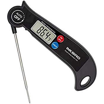 Inkbird Instant Read Meat Thermometer, Digital Food Cooking Thermometer with Magnet, C and F Switch, Fast Read BBQ Thermometer for Smoker, Kitchen, Grilling, Oven, Candy, Baking, HET-F001