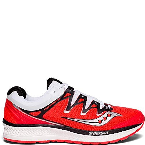 Saucony Women's Triumph ISO 4 Running Shoe, Vizi red/White, 7.5 Medium US ()