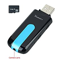 Toughsty™ 16GB Mini Hidden Camera USB Flash Drive Motion Detective DV Camcorder Audio Recording