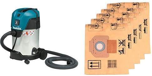 Makita VC3011L - Aspirador + Makita P-70194 - Bolsa de papel: Amazon.es: Bricolaje y herramientas