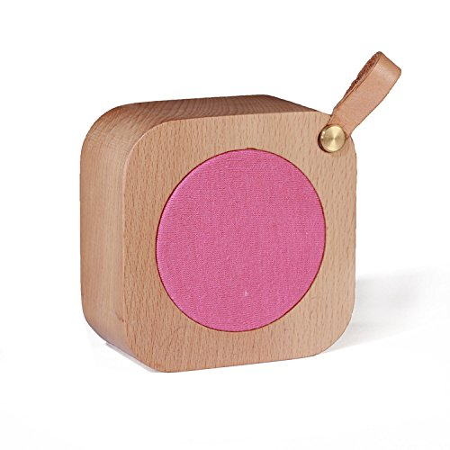 Aiweasi Simple Wooden Music Box For College Graduation Souvenir With Music of Castle in the Sky-Rose Red by Aiweasi (Image #3)