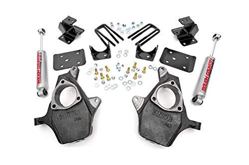4 inch front drop kit silverado - 7