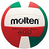 Molten VB Setter Volleyball (Green/Red/White, Heavy Wgt/14.1-Ounce)