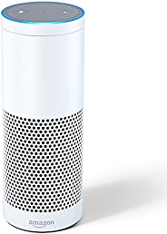Certified Refurbished Echo Plus (1st Gen) with built-in Hub – White