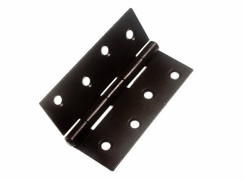 100 Pairs Butt Hinge ( Door Gate ) Steel Black 100Mm 4 Inch by DIRECT HARDWARE