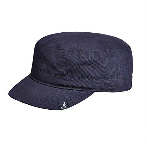 - Kangol Adult's Cotton Adjustable Army Cap, navy S/M